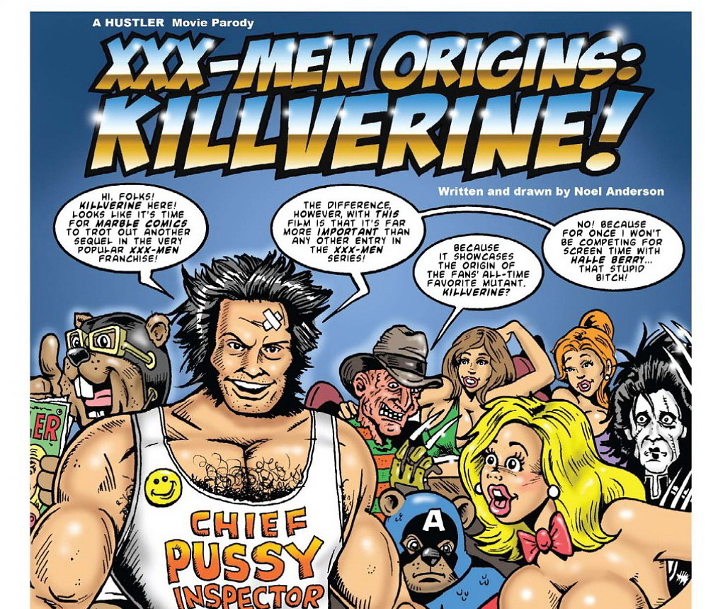 xxx-men origins killverin Hustler parody. from here